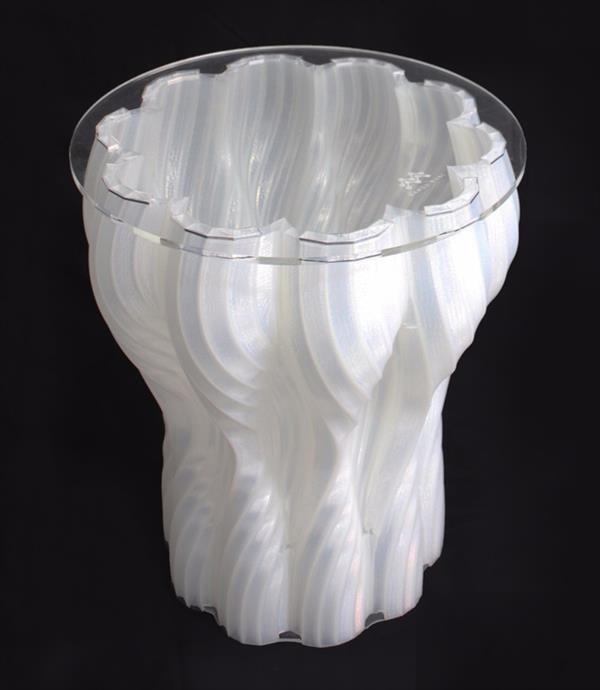 Sculptural 3D-Printed Stools