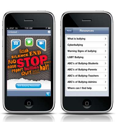 Schoolyard Violence-Haulting Apps