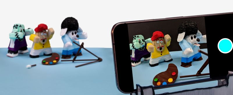3D-Printed Stop-Motion Toys
