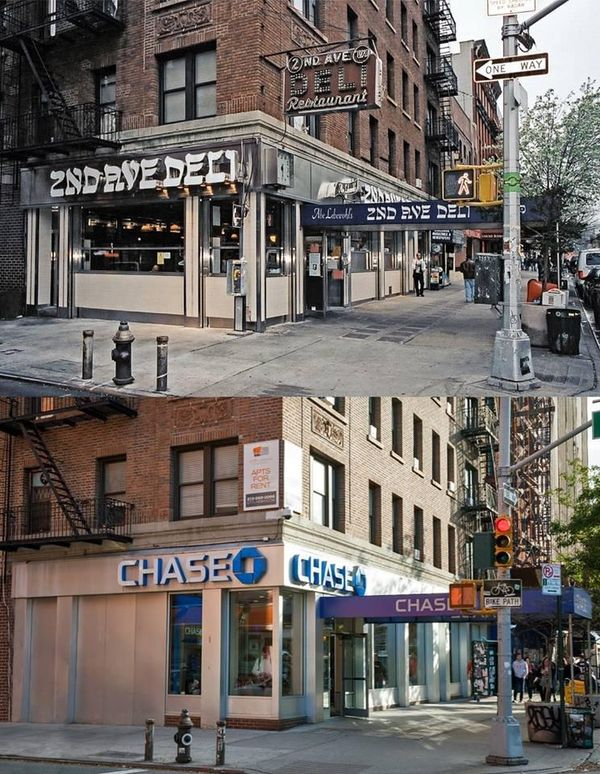 Before-and-After Gentrified Cities