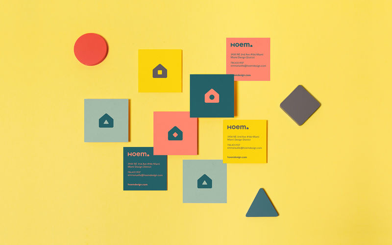 Playful Furniture Store Identities