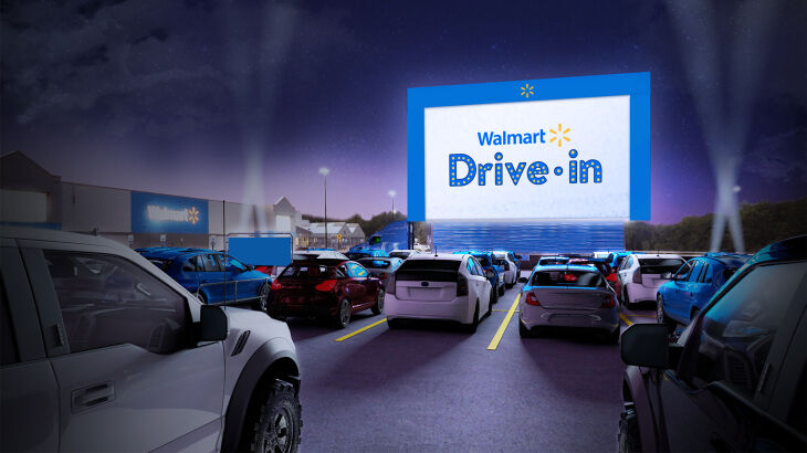 Retail-Converted Drive-In Theaters