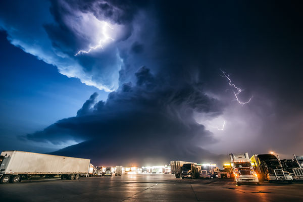 Vigorous Storm Chaser Photos