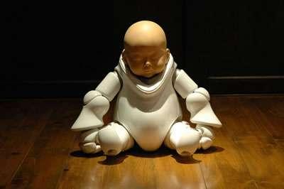 3D Futuristic Infants