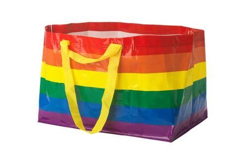 Empowering Rainbow-Tonal Bags