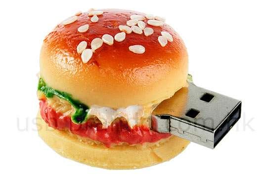 Fake Food Flash Drives