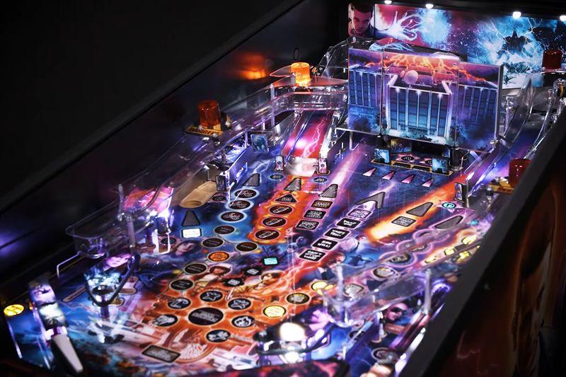 Sci-Fi-Inspired Pinball Machines
