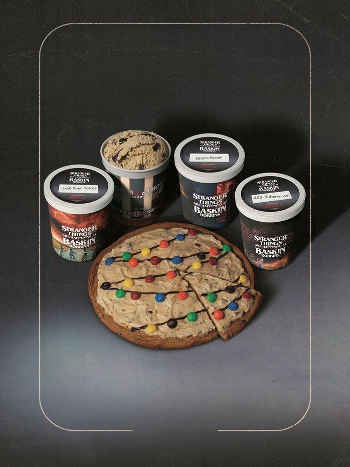 Cinematic Sci-Fi Ice Creams