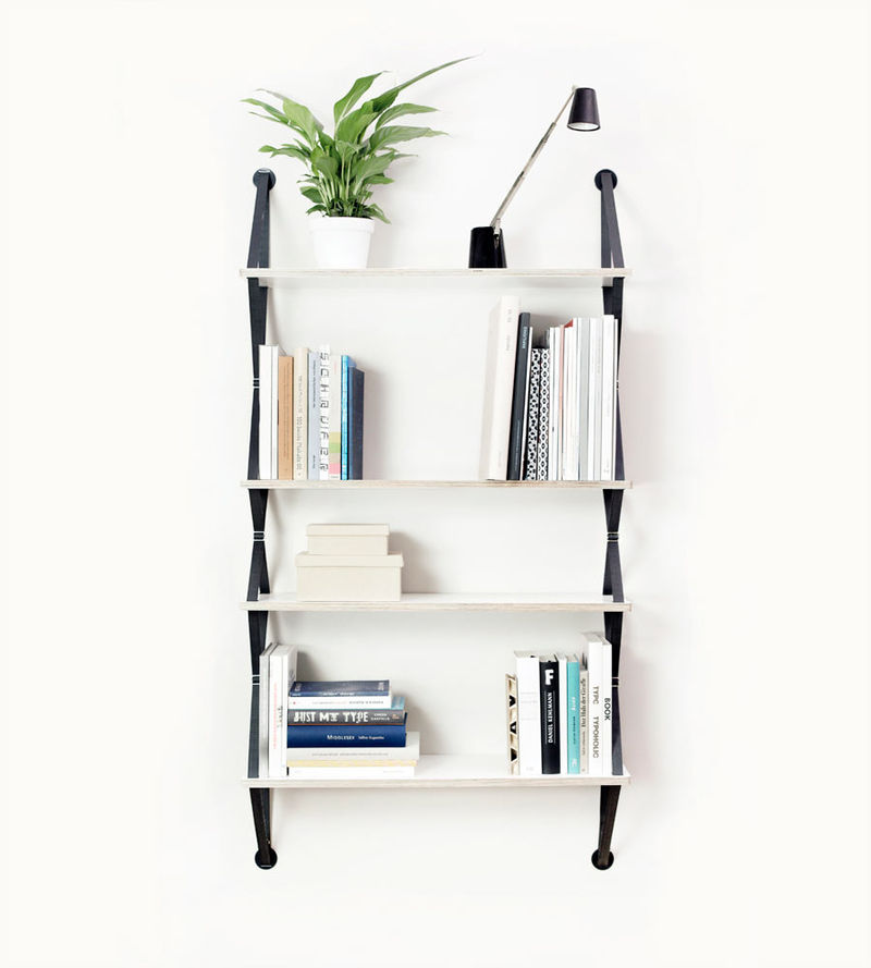 Contemporary Strap Shelving