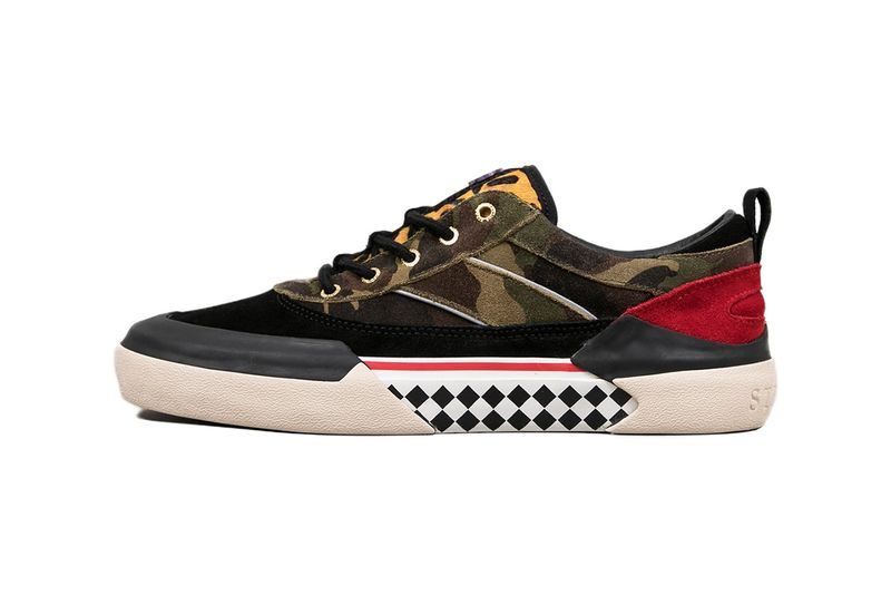 Heavily Patterned Sneaker Designs