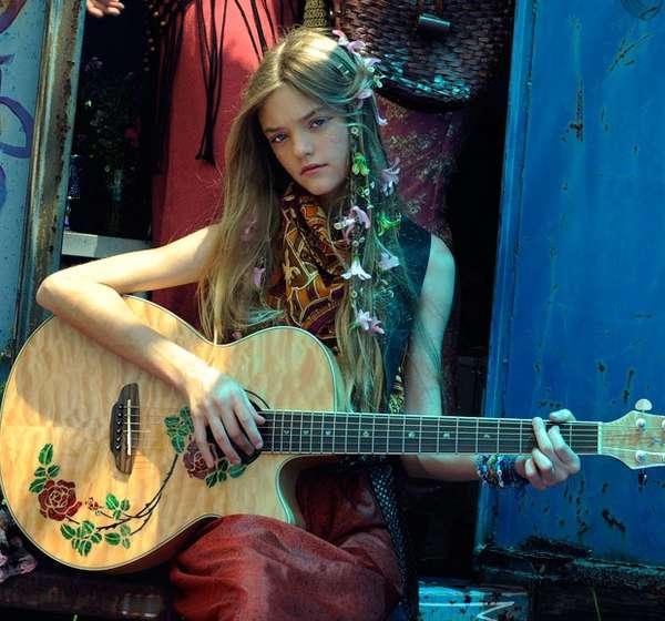 Youthful Hippie Editorials