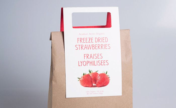 Eco Strawberry Packaging