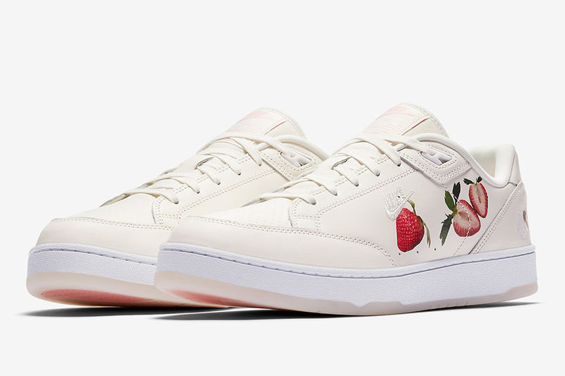 Adorable Strawberry Sneakers
