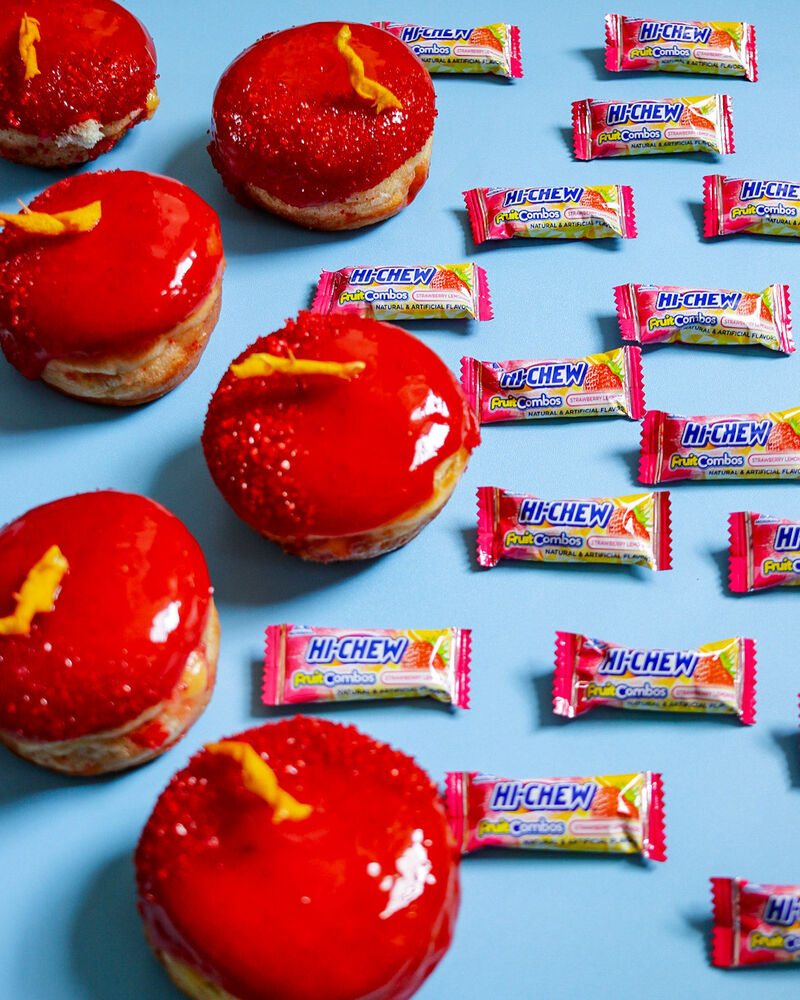 Candy-Glazed Summer Donuts