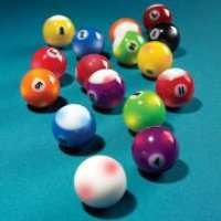 Light Up Pool Balls: Billiard In The Dark