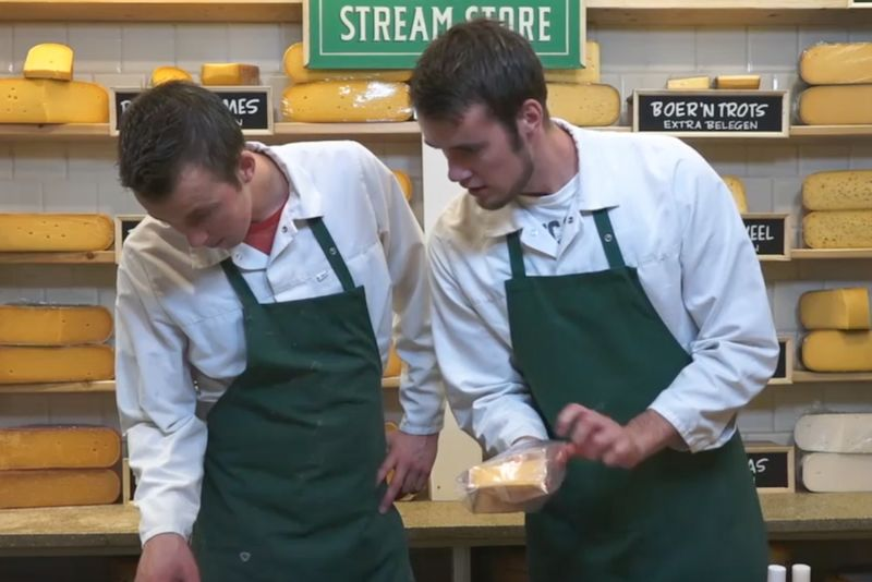 Livestreaming Cheese Shops