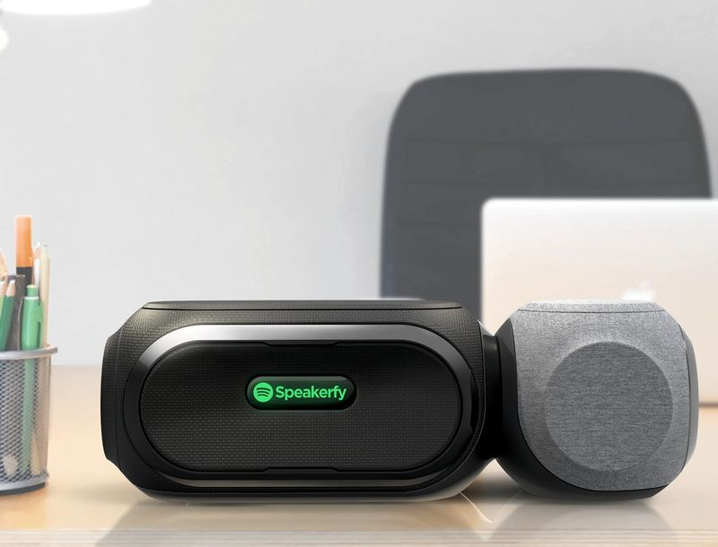 Magnetic Streaming Speakers