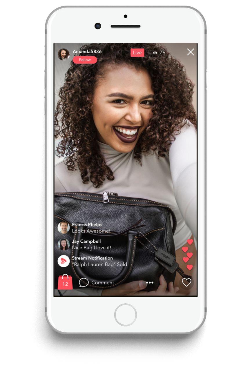 Livestream Shopping Apps : Streamlist