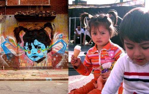 Family Photo Graffiti