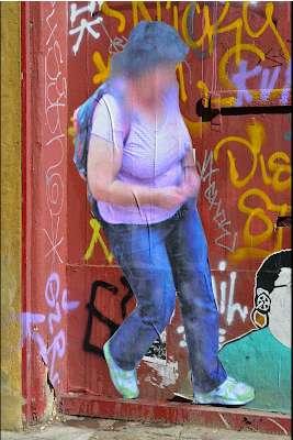 Google Maps-Inspired Graffiti