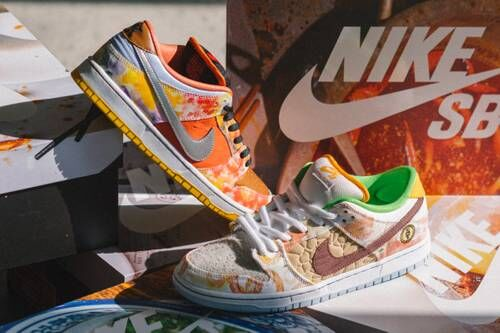 China Food Stand-Inspired Sneakers