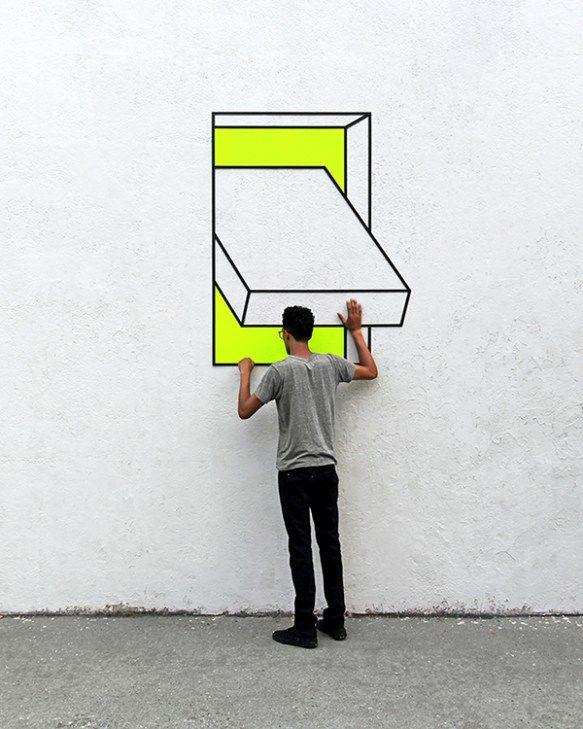 Vibrant Illusory Street Installations