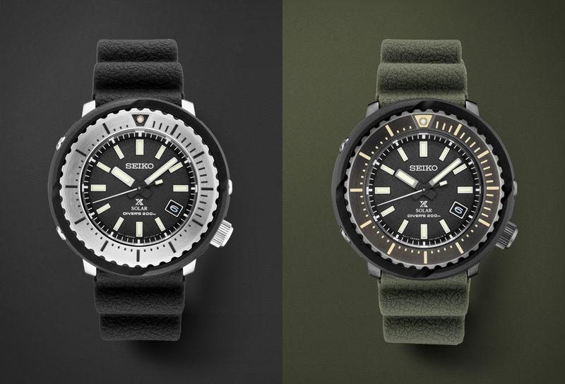 Light-Powered Diver Timepieces
