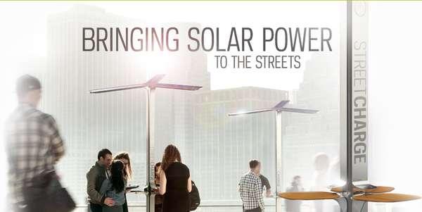 Public Solar Charging Stations