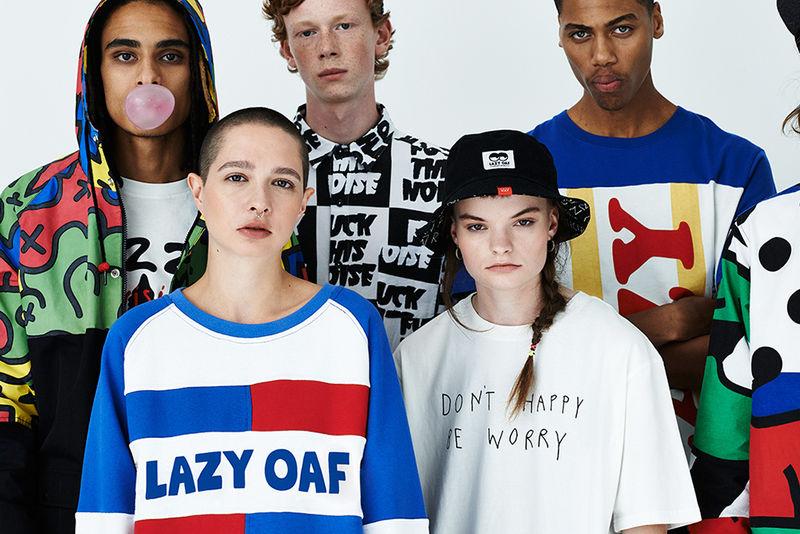 Grungy Streetwear Lookbooks