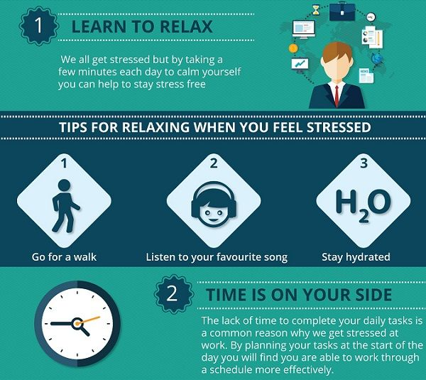 Workplace De-Stressing Guides
