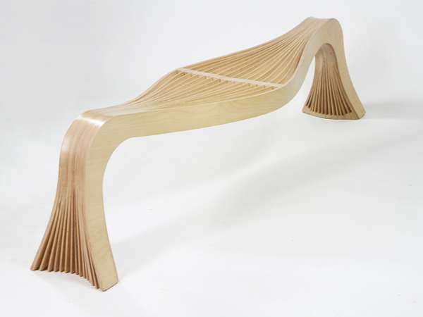 Canoe-Shaped Chairs