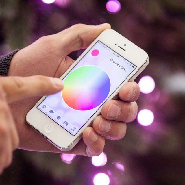 App-Enabled String Lights