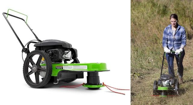 Thick Foliage Mowing Appliances