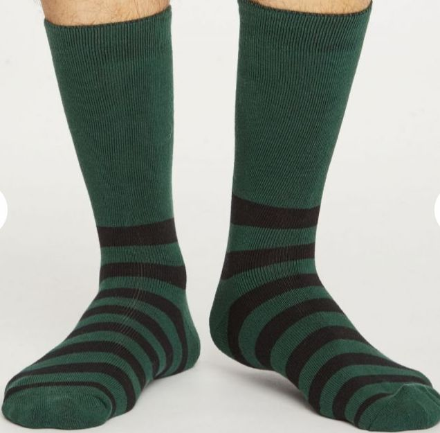 Sustainable Classically-Striped Socks