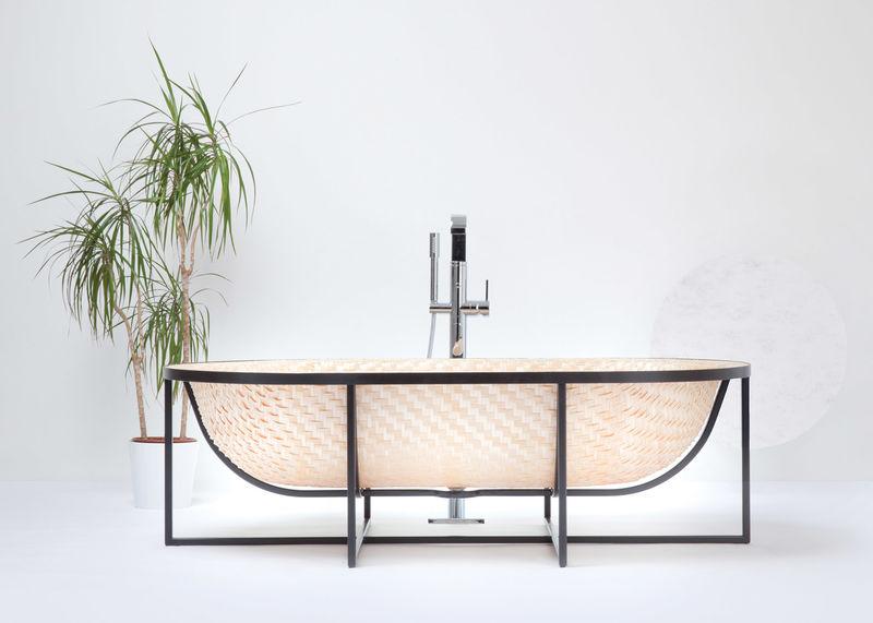Woven Wooden Bathtubs