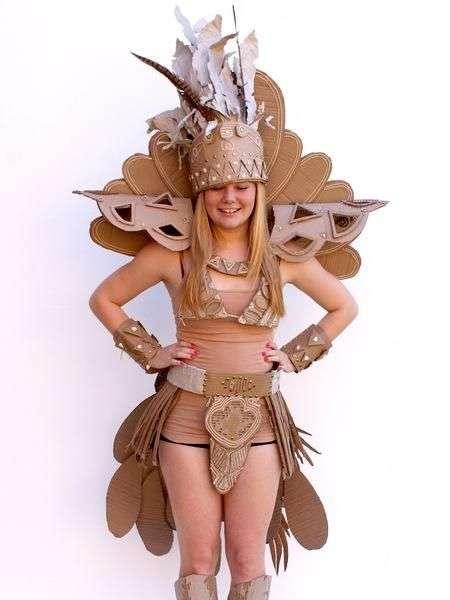 Carnival Cardboard Costumes