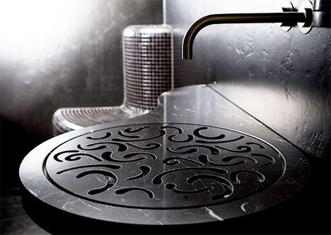 Elegant Filigree Sinks