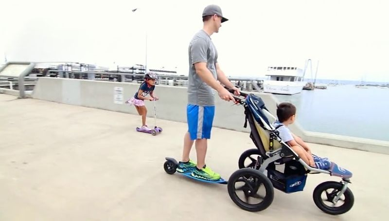 Scooter Stroller Attachments