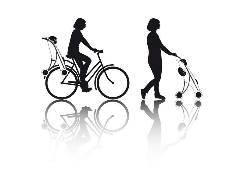 Hybrid Baby Strollers Stroller Concept