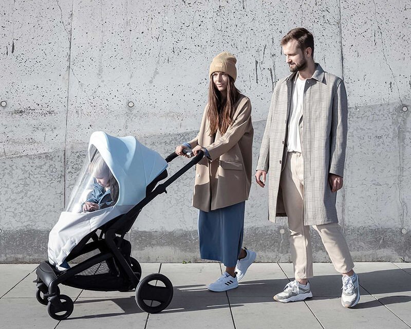 Pollution-Blocking Stroller Covers
