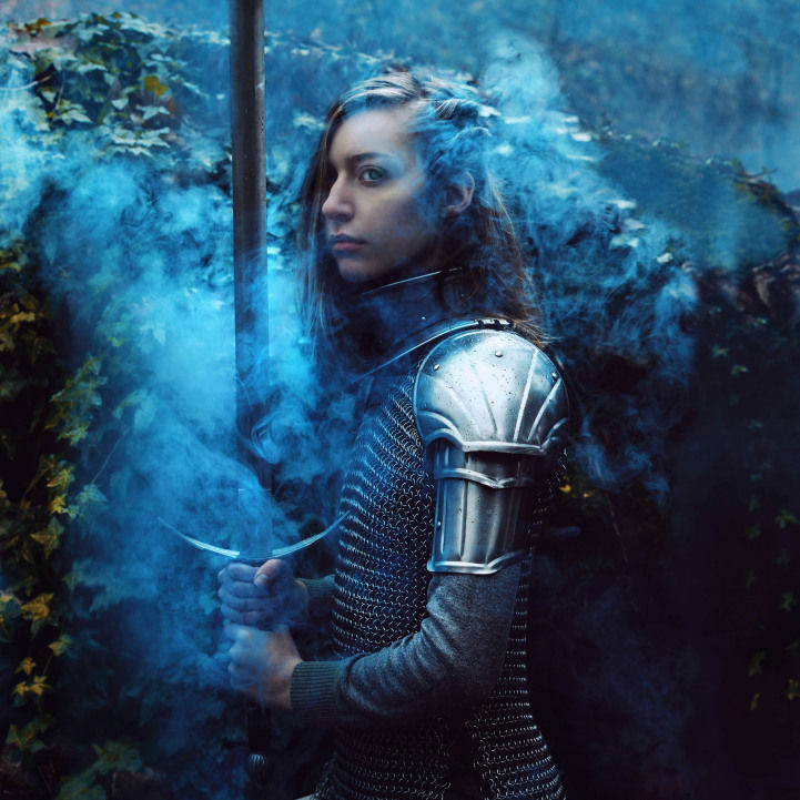 Feminine Knight Portraits