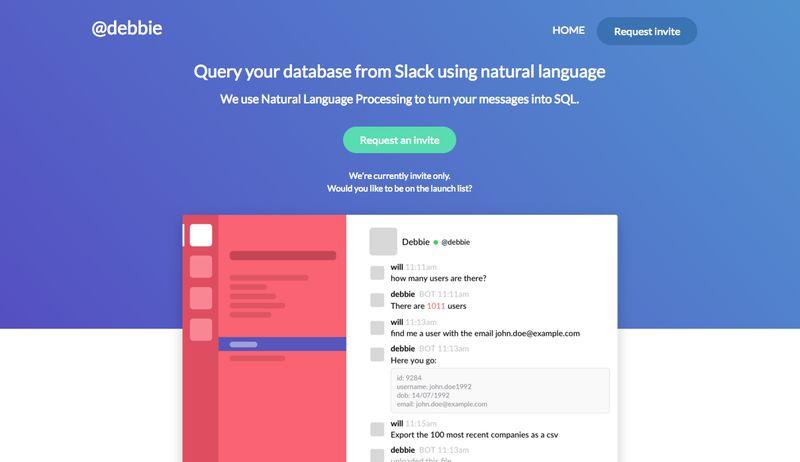 Productivity-Improving Database Bots