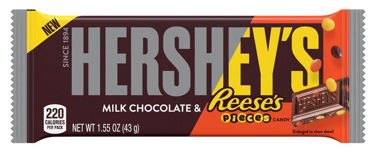 Candy-Studded Chocolate Bars