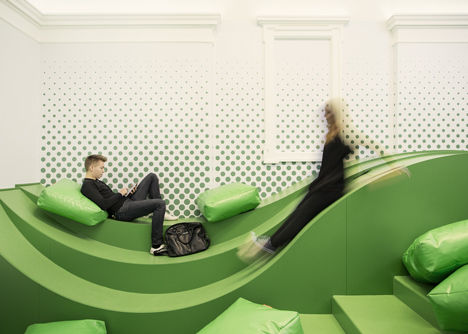 Wavy Student Lounges