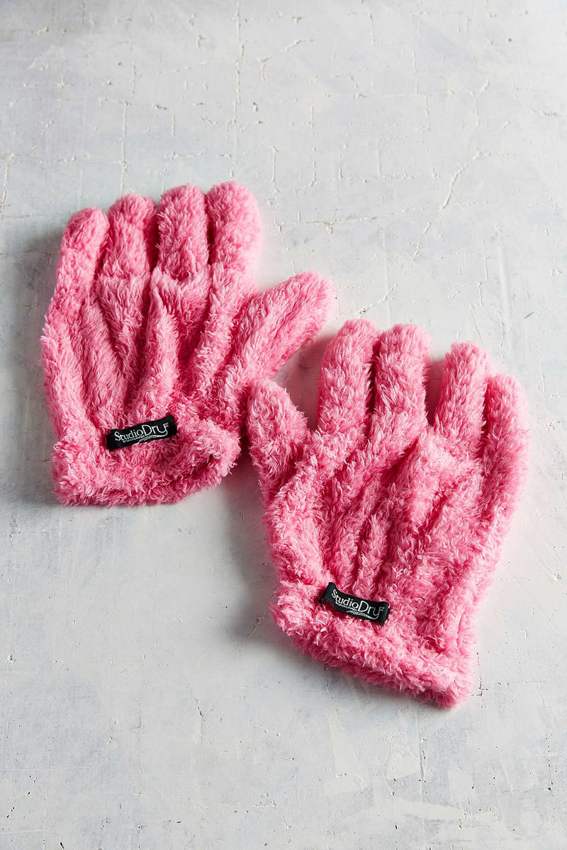 Hair-Drying Gloves