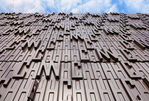 Typography-Infused Architecture