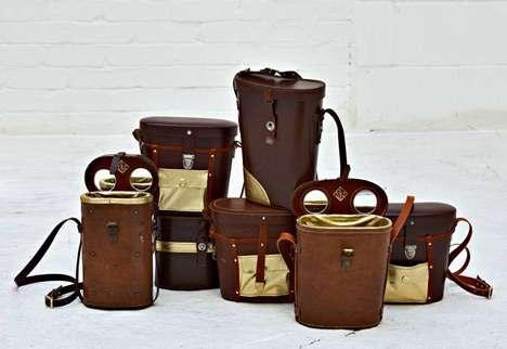 Upcycled Binocular Bags