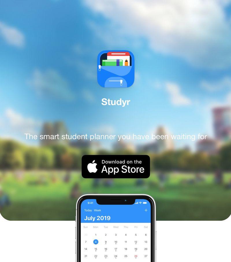 Student Lifestyle-Organizing Apps