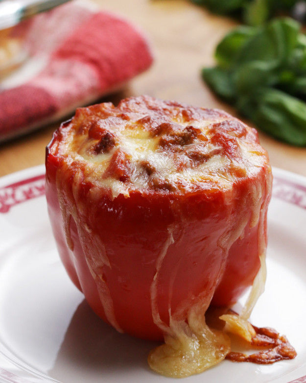 Noodle Dish-Stuffed Peppers