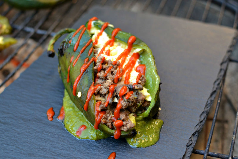 Stuffed Pepper Breakfasts